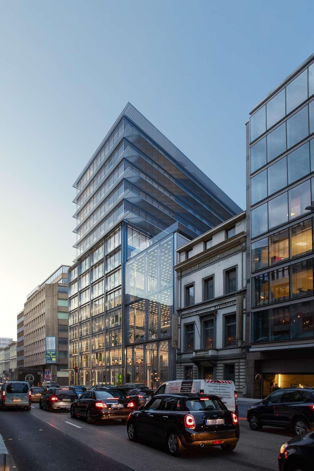 Brussel gebouw